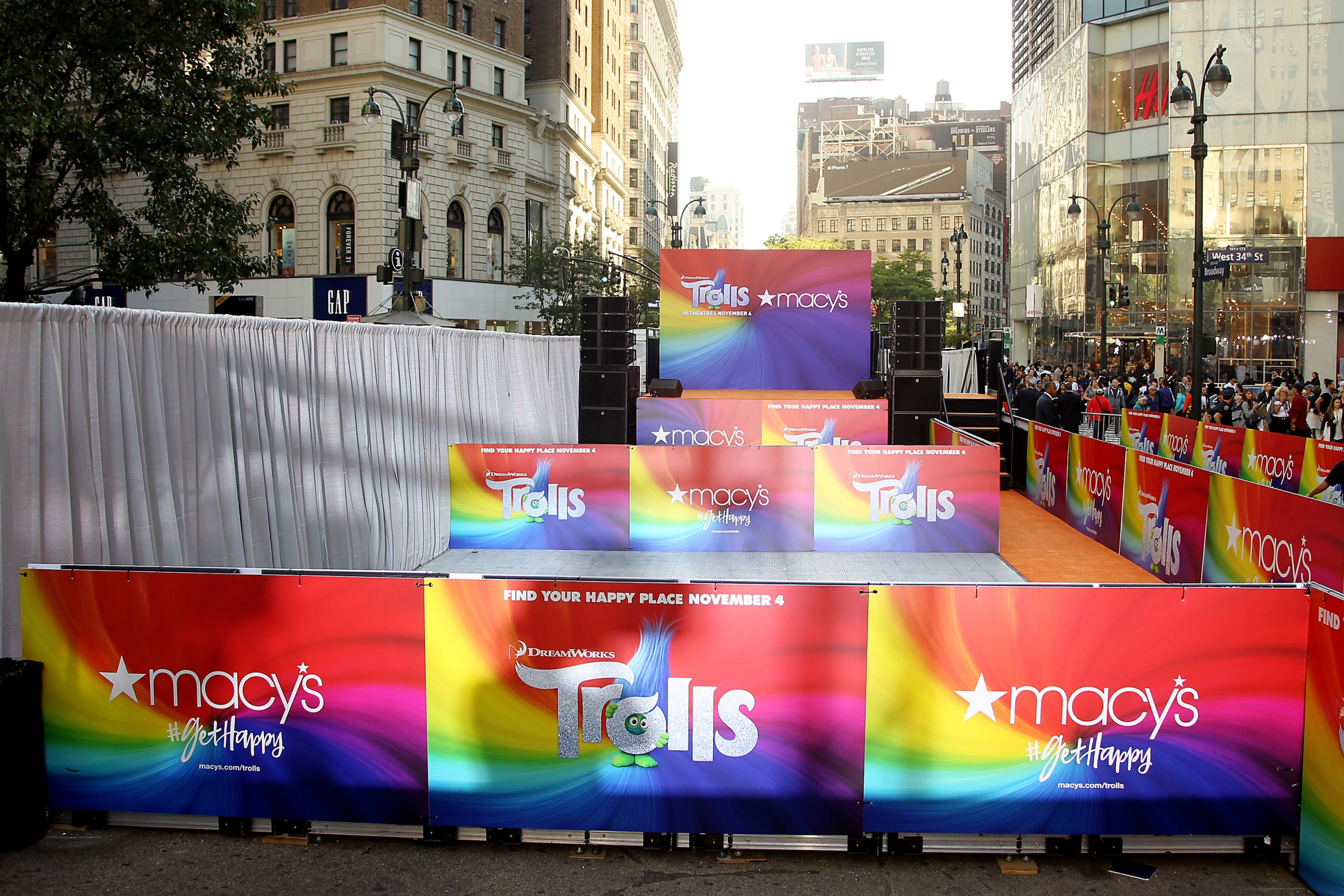 "Preferred Security Investigations –  New York, NY – 10/6/16 – Macy's Herald Square Celebrates DreamWorks Animation's ""Trolls"" the Movie and the Music"
